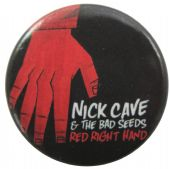 Nick Cave and the Bad Seeds - 'Red Right Hand' Button Badge